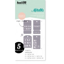 Fustella Kesi'Art - Métaliks Tickets