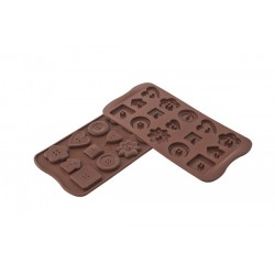 Stampo SilikoMart - Choco Buttons