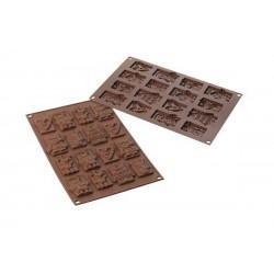 Stampo SilikoMart - Xmas Choco Tags