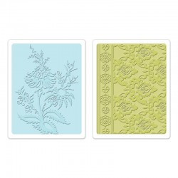 Embossing Folder -  Beatnik Bouquet Set
