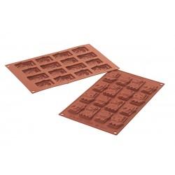 Stampo SilikoMart - Safari Choco Tags
