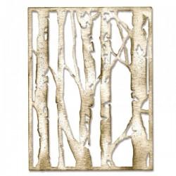 Fustella Sizzix Thinlits - Birch Trees