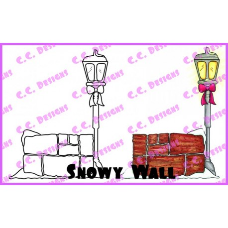 Timbro Cling C.C. Designs - Snowy Wall