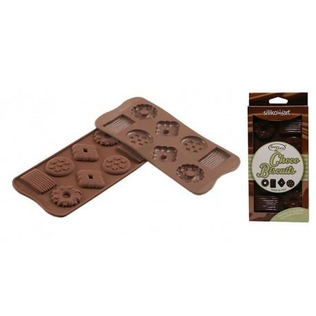 Stampo SilikoMart - Choco Biscuit