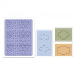 Embossing Folder -  Jar Labels Set