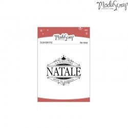Timbro clear ModaScrap Natale - MAGIA DEL NATALE
