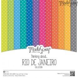 """Kit carte ModaScrap -12""""x12"""" Thinking About... Rio De Janeiro"""