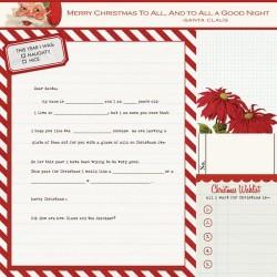 Carta Teresa Collins - Santa's List - Santa's Letter