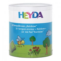 Confezione Tamponi Heyda - Rainbow