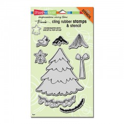 Timbri cling - Stampendous Create Christmas