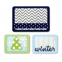 Fustella Sizzix Thinlits - Winter