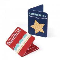Fustella Sizzix Thinlits - Jounarl cards