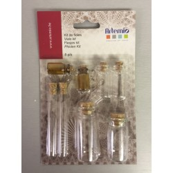 Kit Artemio - Fiale in vetro