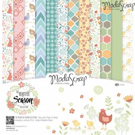 Kit carte ModaScrap - The Beautiful Season